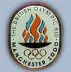 Pincollector Manchester 2000 The British Olympic Bid With