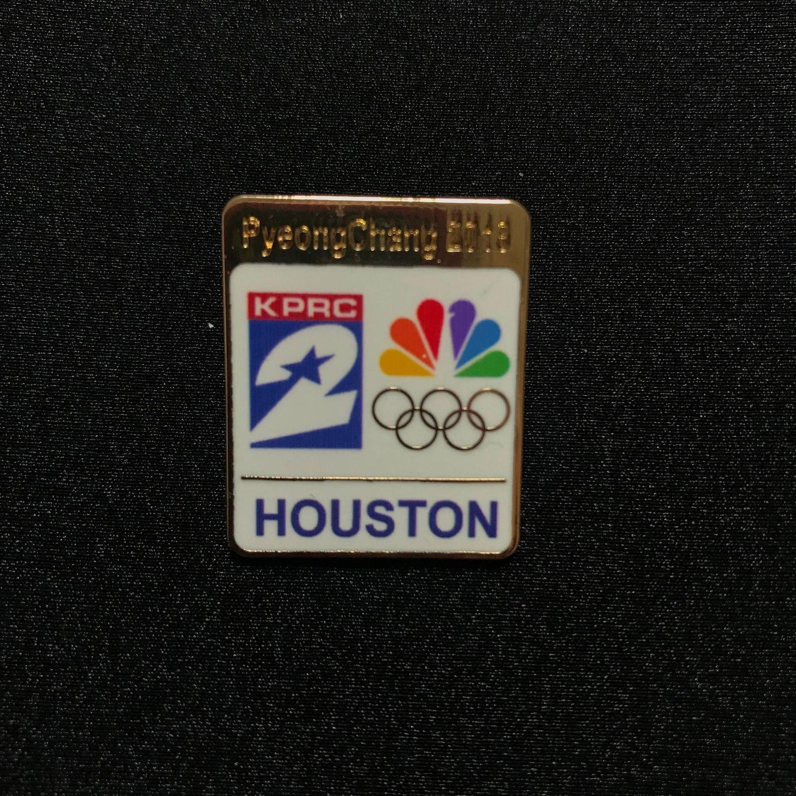 Pincollector Nbc Houston 2 Tv Media Pin Pyeongchang 2018